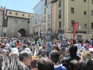 Salida Ciclistas 18ª Etapa