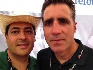 Miguel Indurain y Tomás