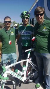 Antonio Piedra con nuestros Voluntarios