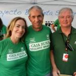 Nuevo gran empujón a la Bicicleta Solidaria con Carlos de Andrés sumándose al verde