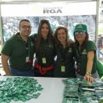 Fiesta total en Burgos con bailes y récord de kilómetros en la Bicicleta Solidaria