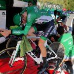 Trabajo de equipo para empezar La Vuelta con buen pie