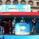 Recorremos el camino hasta el Control de Firmas en La Vuelta con Peio Bilbao y Edu Prades