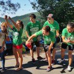 'Marea Verde' en el Alto de El Vivero y en la Bicicleta Solidaria de Bilbao