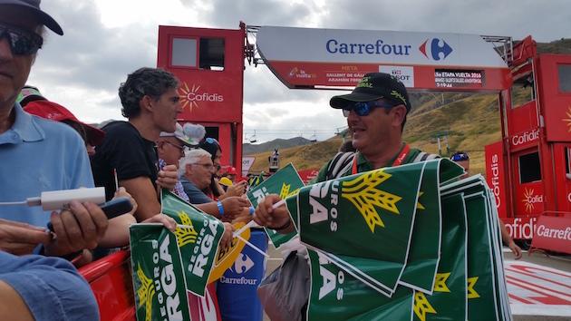 Etapa 15 La Vuelta 2016 (Sabiñánigo - Formigal)