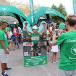 Diversión y solidaridad en las Fan Zone de Caja Rural y Seguros RGA en La Vuelta