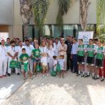 Solidaridad con los más pequeños desde antes de la primera pedalada de La Vuelta 2019